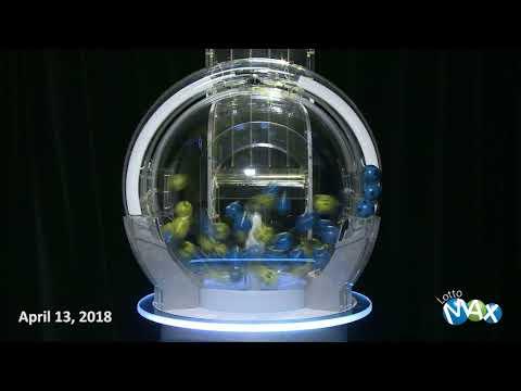 Lotto Max Draw, April 13, 2018