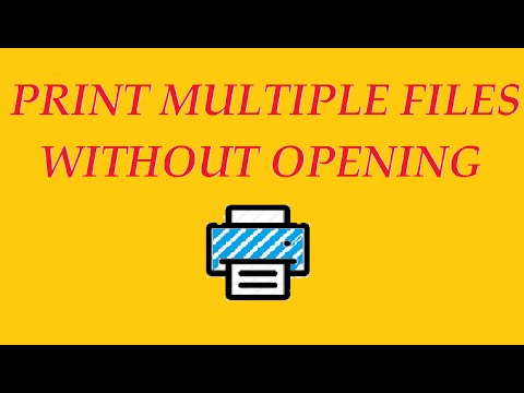 how to print multiple files without opening each one