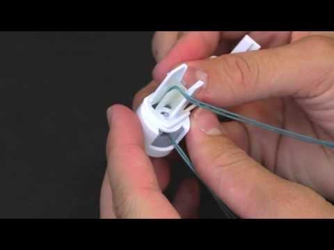 How to Thread a Shade Cord Lock (Delmar, Kirsch, Levelor)