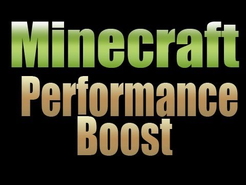 Minecraft Tutorial - Improve your Performance - Increase your Memory.