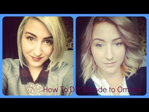 How To; DIY Blonde to Ombre