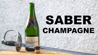 This Week I Learned to Saber a Champagne Bottle