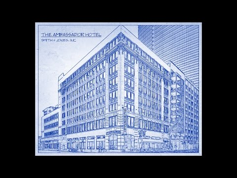 Photoshop Tutorial: How to Transform a Photo into an Architect's Blueprint Drawing