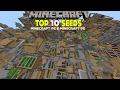 Minecraft: Top 10 Seeds (Minecraft 1.11.2/1.11/1.10/1.9) Minecraft PC & Minecraft PE - 2017 [HD]