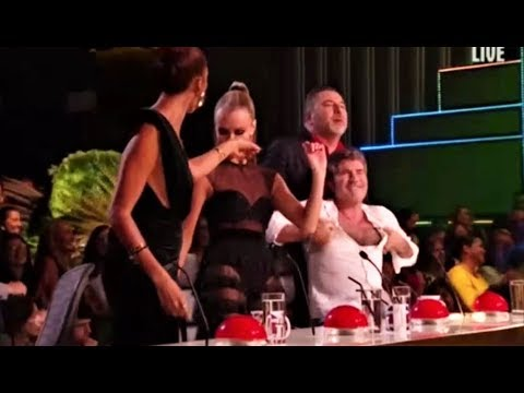 'Wiggle Wine' Singer Donchez BRINGS THE HOUSE DOWN!   Semifinals   Britain's Got Talent 2018