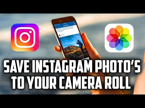 How to Save Instagram Photos to Camera Roll [2017] by TechnoGroot