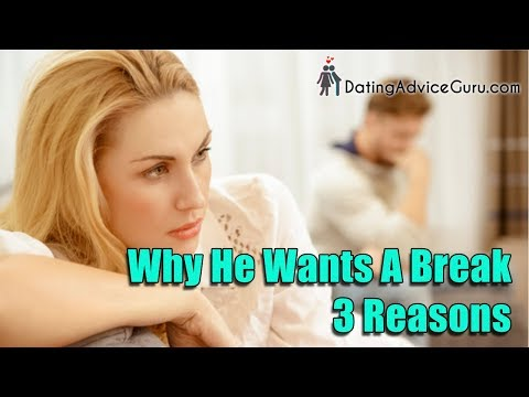 Why He Wants A Break - 3 Reasons | Relationship Advice With Carlos Cavallo