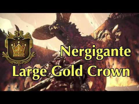 Nergigante - Large Gold Crown Measurement - MHW
