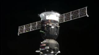 Expedition 51-52 Crew Docks to the Space Station