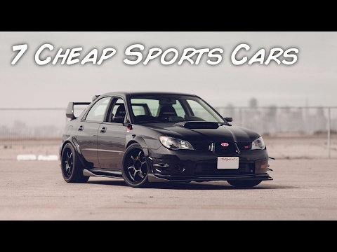 Top 7 Cheap Sports Cars! (That You Can Have As Your First Car)