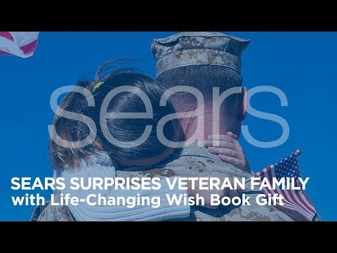Sears Surprises Veteran Family with Life-Changing Wish Book Gift