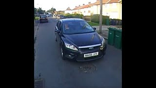 NA08 JZX Deliberately Tries to Run Cyclist Off the Road