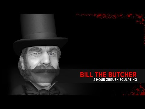 Bill the Butcher : Zbrush Sculpt