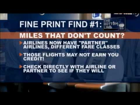 Bottom Line: Airline Miles
