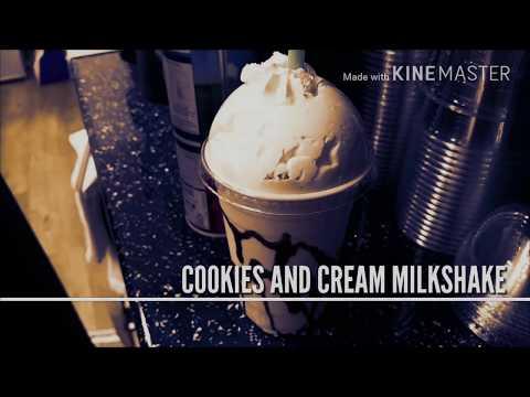 COOKIES 'N' CREAM MILKSHAKE!  | Ft PBS