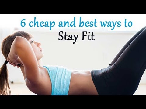 Cheap and best ways to stay fit - Onlymyhealth.com