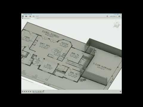 Fusion 360 : How to design a house from a floor plan picture on Google