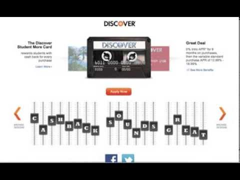 Discover: Student More Card