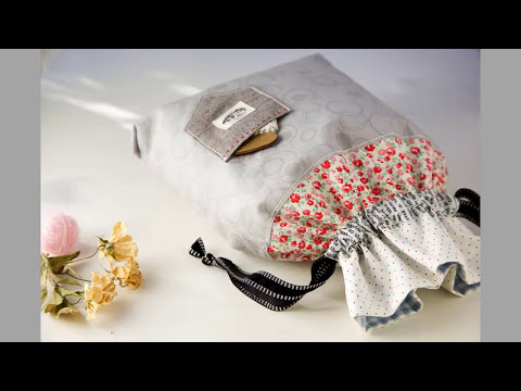 Shine Sewing Tutorial How to Make a Drawstring Bag