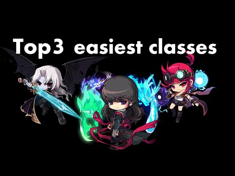 MapleStory Top 3 Easiest to play Classes