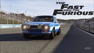 Forza Motorsport 6 - Ford Escort RS1600 Fast & Furious 1970 - Test Drive Gameplay [1080p60FPS]
