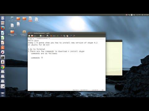 How To Install Skype In Ubuntu