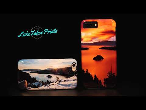 LAKE TAHOE PHONE CASE FOR IPHONE & SAMSUNG GALAXY DEVICES