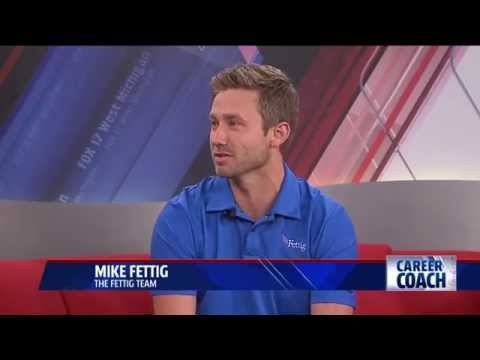 Career Coach Mike Fettig on Fox 17 - How to Build a Resume