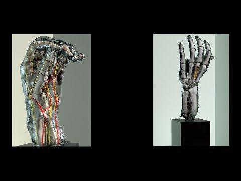 High tech scans reveal Rodin's hands
