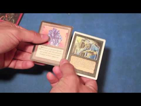 How to spot fake Magic the Gathering betas - *Card Authentication*