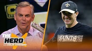 Drew Brees talks moving past the NFC Championship blown call, Sean Payton and more | NFL | THE HERD