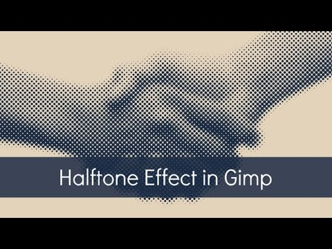 [Tutorial] Halftone Effect in Gimp