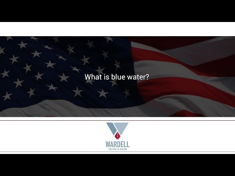 What is blue water?