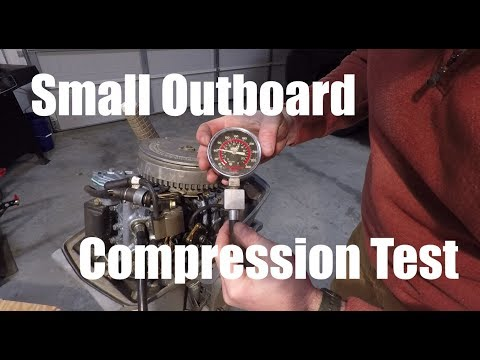 Small Outboard Cylinder Compression Test