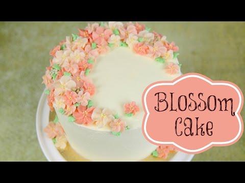 Buttercream Blossom Cake Decoration - CAKE STYLE