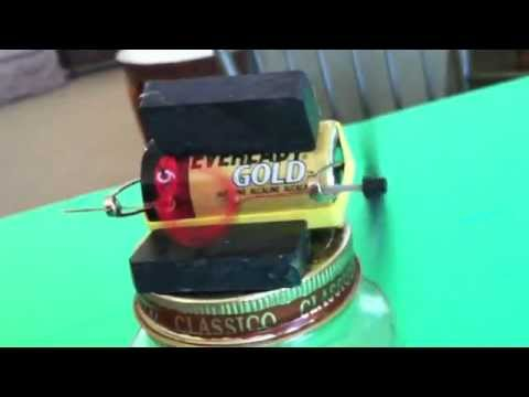 Electricity and Magnetism Simple Electric Motor