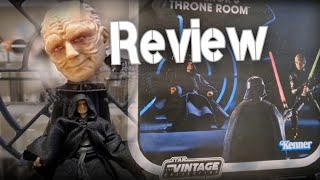 Emperor's Throne Room | Star Wars VINTAGE COLLECTION | 3.75 Review