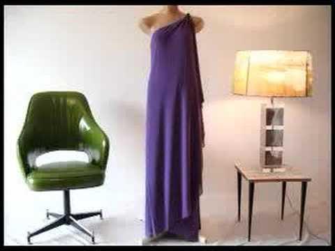 Vintage 70s Cleopatra Disco Dress