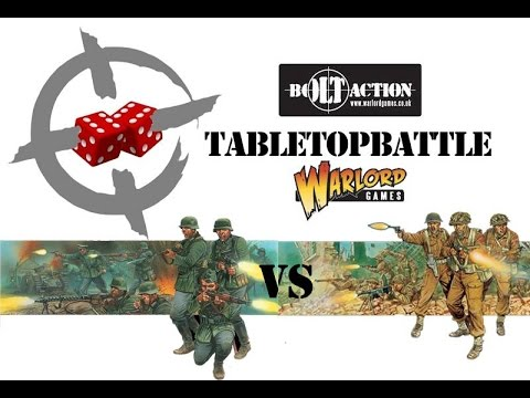Bolt Action battle report - 1943: Italy. Germany VS GBR 600pts