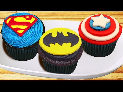 Cupcake Decorating Ideas | Best of Superhero Cupcakes | DIY Dessert Hacks by Hooplakidz Recipes