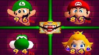 Mario Party 2 - All Score Minigames