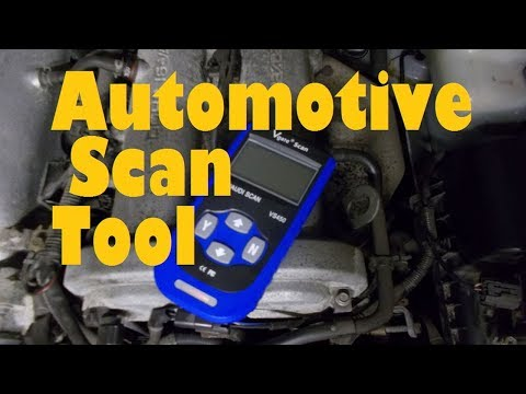 How to use an engine scan tool