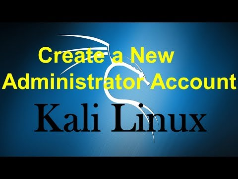 How to Add User Account as Administrator in Kali Linux