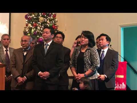Cầu nguyện cho gd mục sư Ong Thái An đến nhậm chức tại HT Orlando
