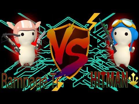 HITMAN VS Rampage Tr - Capture The Milk [MilkChoco Clan Battle]