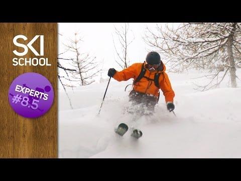 Expert Ski Lessons #8.5 - How to Ski Trees