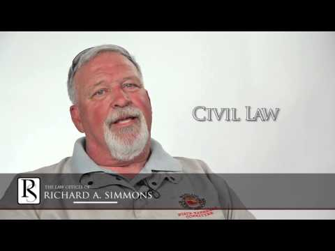 Civil Law Client Recommends Lawyer Richard A. Simmons
