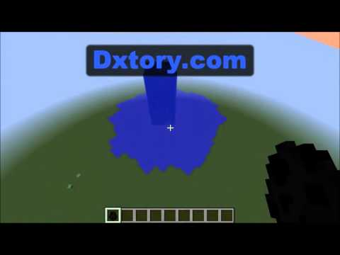 Minecraft Mob Farm- Overworld Enderman Water Grinder Concept