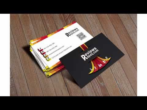 Free Download Professional 3D Style Business Card Template