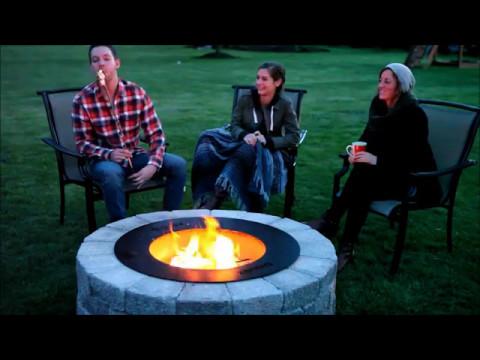 The Zentro Smoke-Less Fire Pit